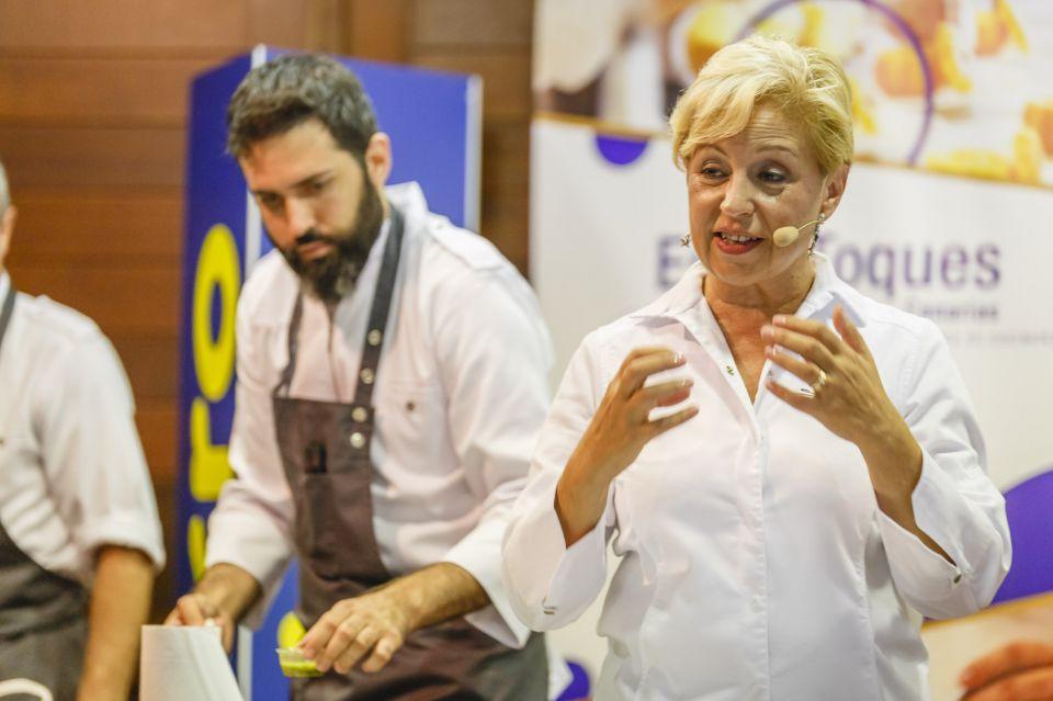 """Susi Díaz: """"Busco que el cliente perciba sensaciones más allá del comer"""""""